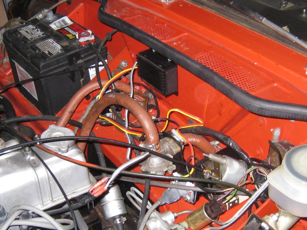 Bad Ignition Module Spitfire Gt6 Forum Triumph Experience Car Crane Wiring Diagram It Has A Fireball Xr700 Unit That Im Not Sure If Is Wired In Right I Havent Started The Yet